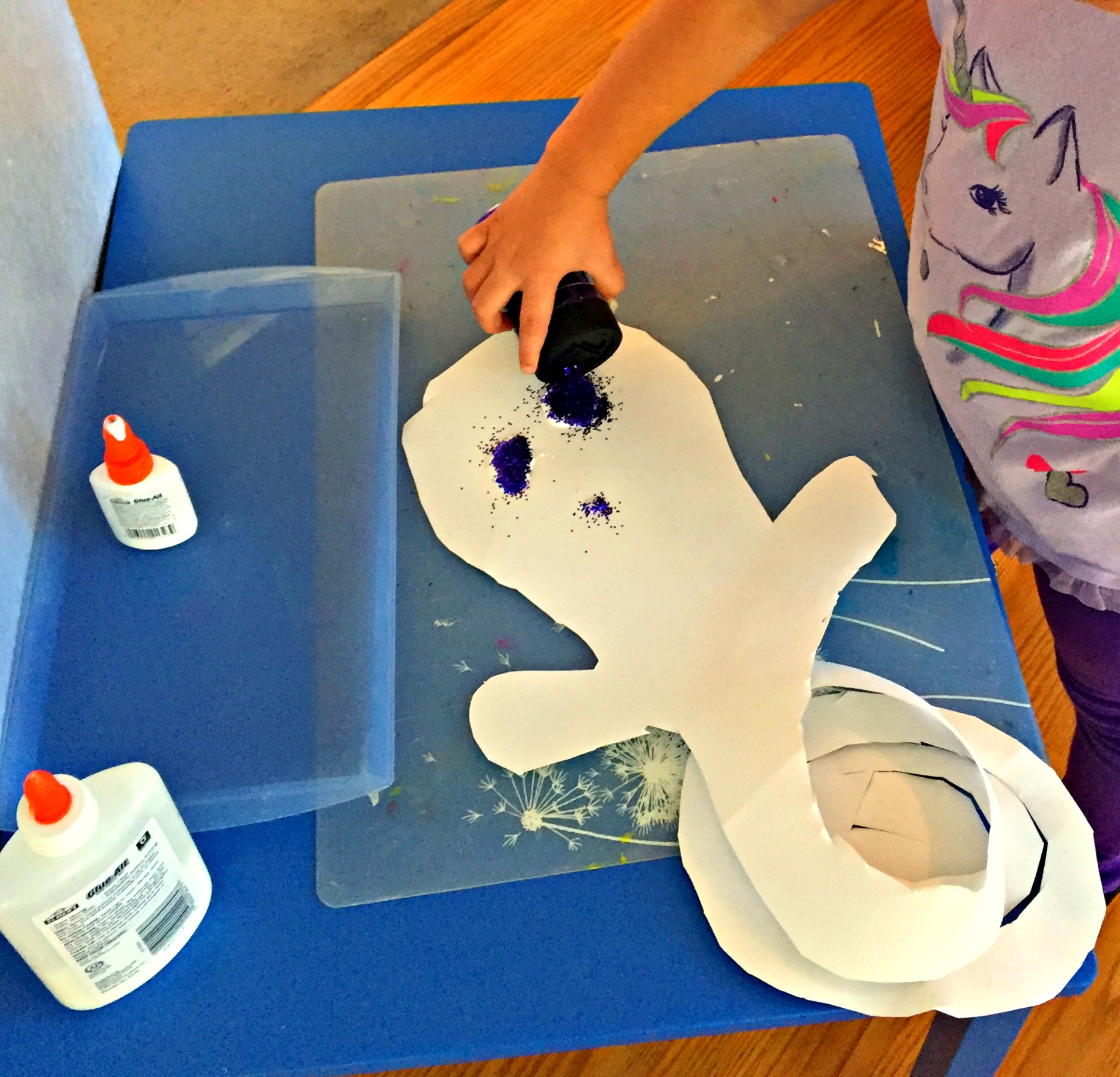 Ghost on preschool 3 d shapes