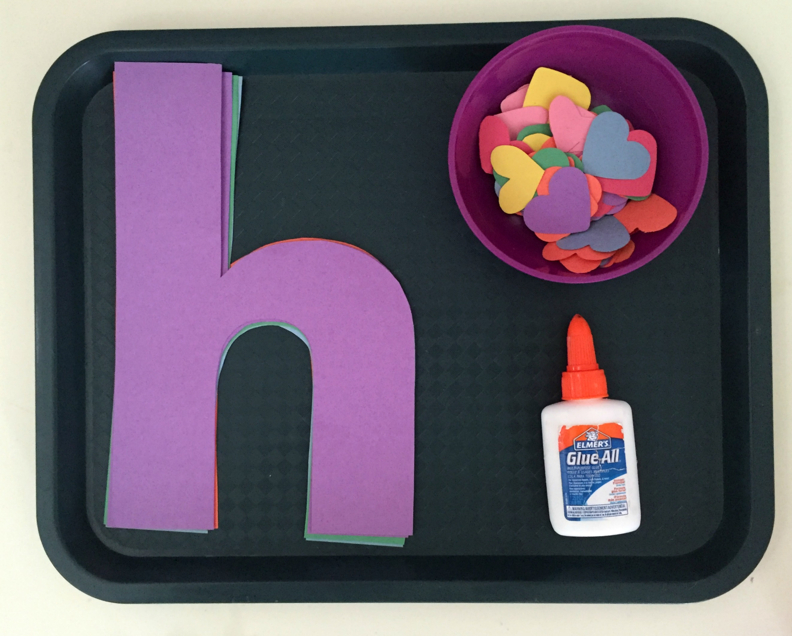 Classroom Gift Ideas ~ The letter h magnets and printing