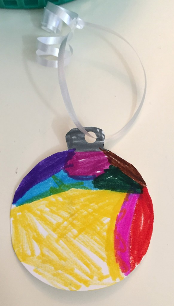 Handmade Christmas Ornament - Ms. Stephanie's Preschool