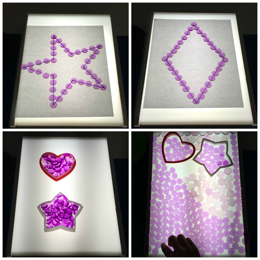 Light Box Collage, Preschool