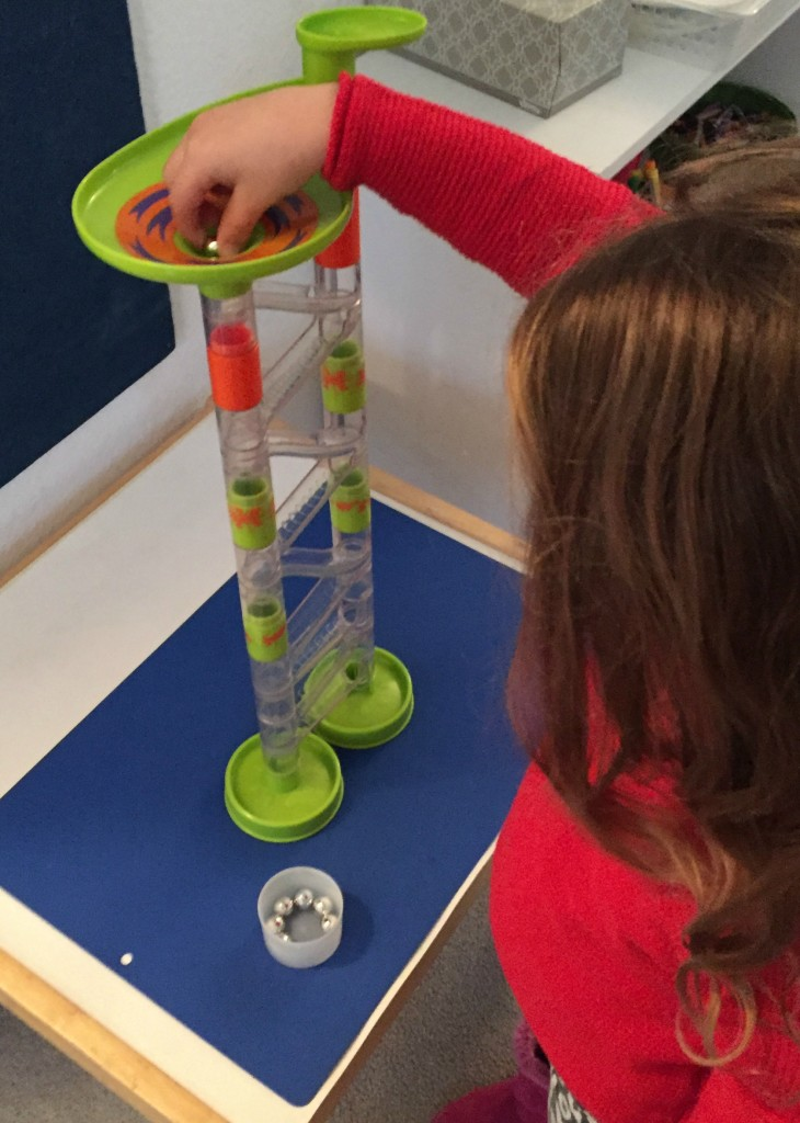 STEAM Activities in the Preschool Classroom - Marble Run and Ramps