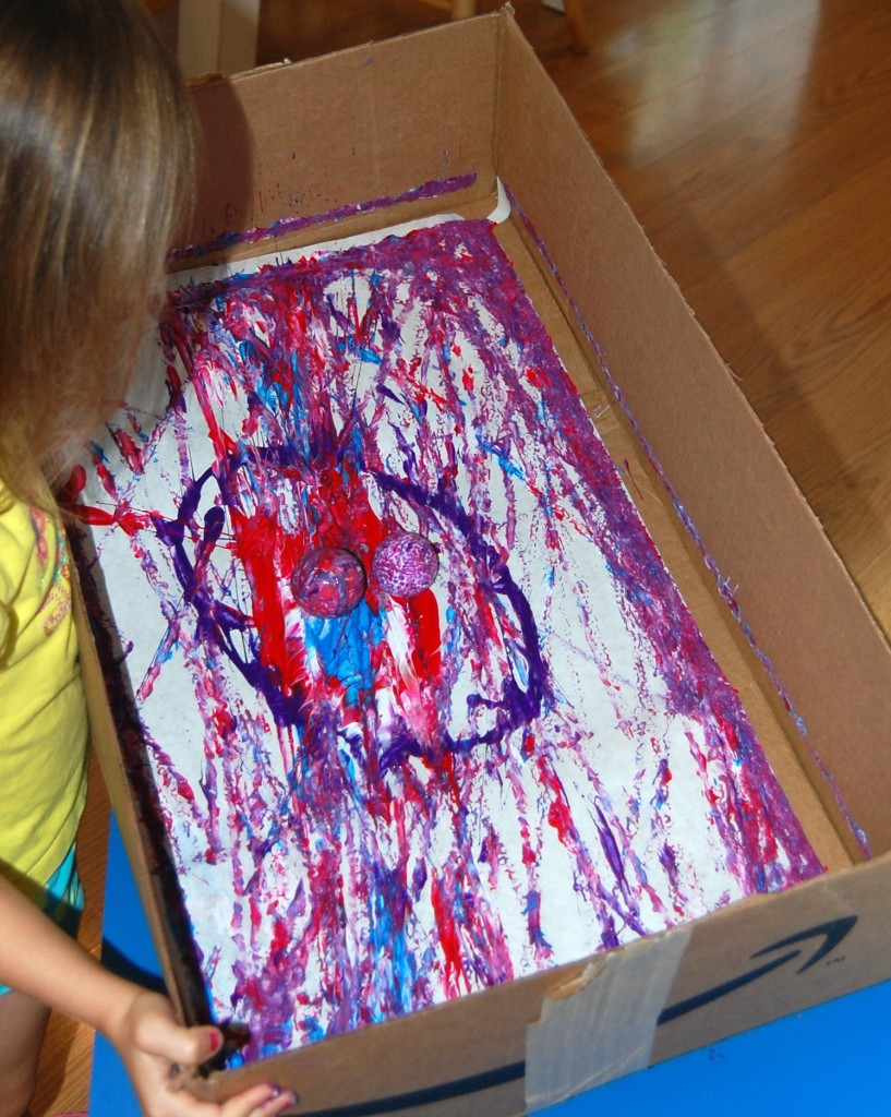 Marble Painting Ms Stephanie S Preschool