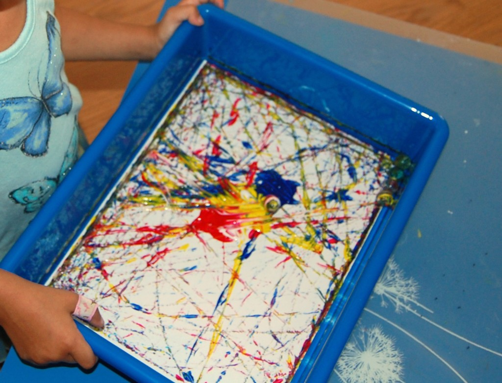 Colored Pencil Drawings Of Marbles : Marble painting ms stephanie s preschool