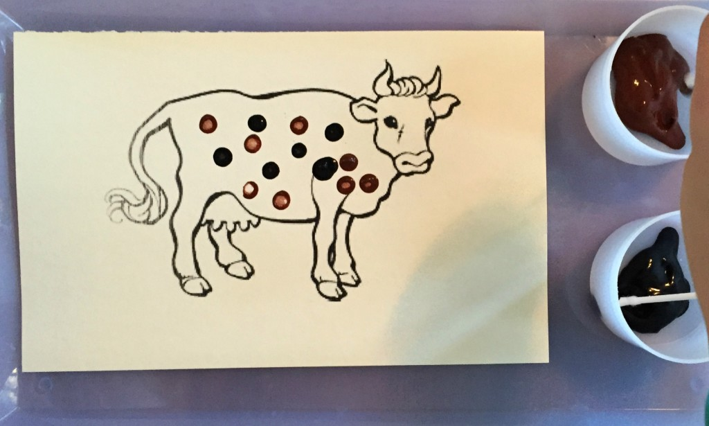 Farm Animals in the Preschool Classroom - Spotted Cow