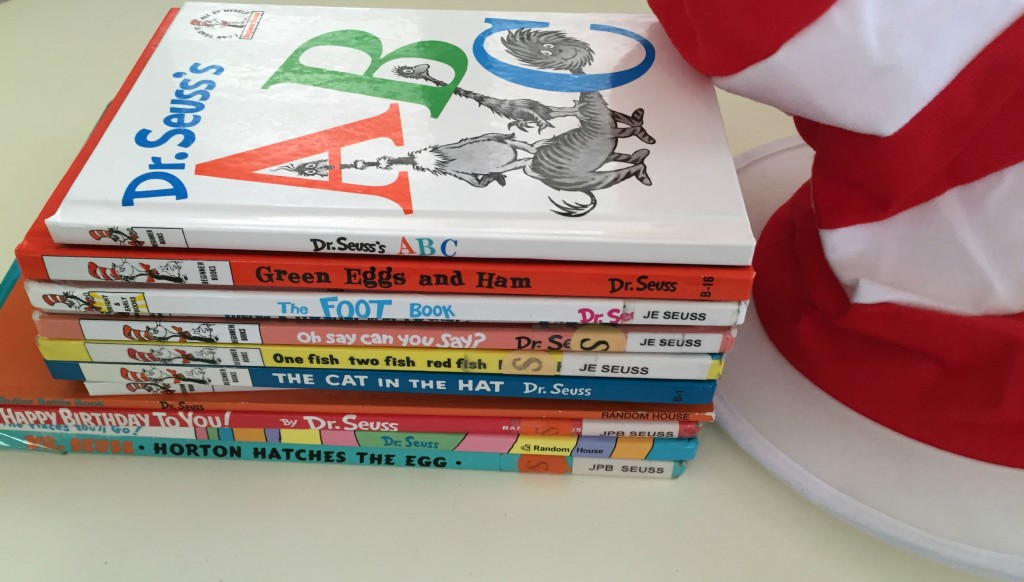 Dr. Suess in the Preschool Classroom - Suess Library