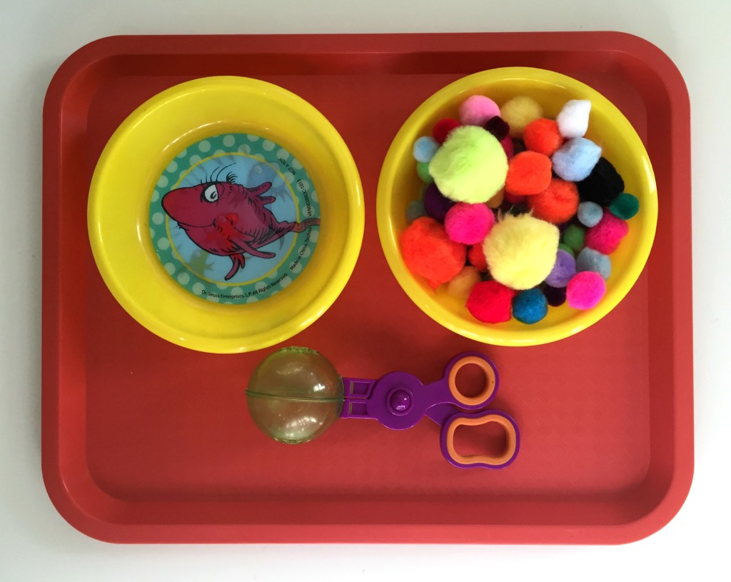 Dr. Suess in the Preschool Classroom - Transferring using Dr. Suess Bowls