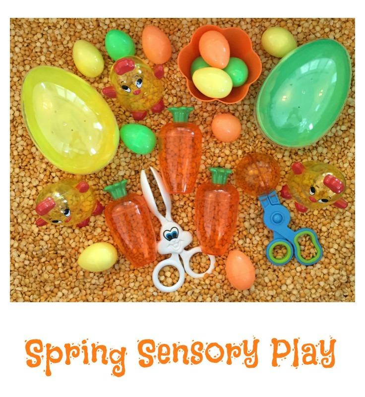 Spring Sensory Play - Spring Activities in the Preschool Classroom