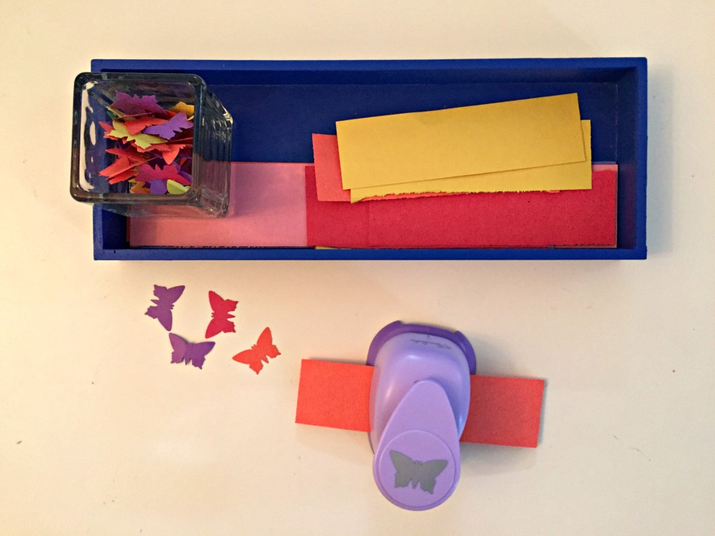 Butterfly Activities for the Preschool Classroom - Butterfly Punch