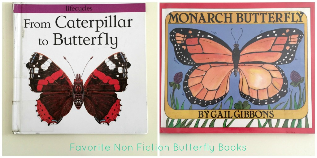 Butterfly Books in the Preschool Classroom - Non-fiction books