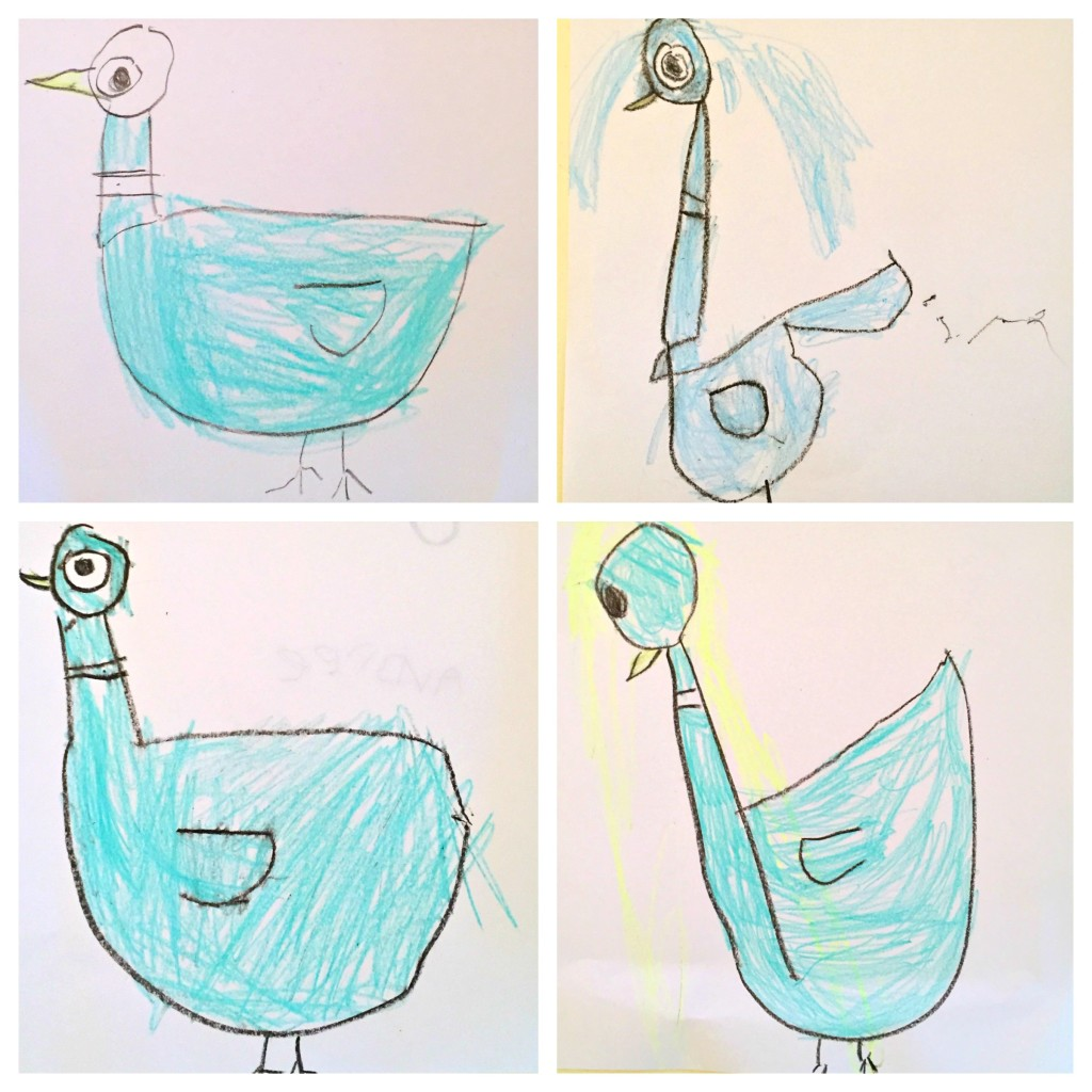 Drawing in the Preschool Classroom - Don't Let the Pigeon Drive the Bus