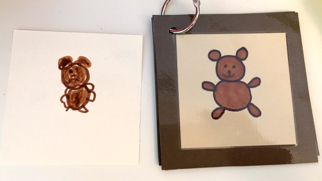 Teddy Bear Day activities for Preschoolers - Drawing Teddy Bears