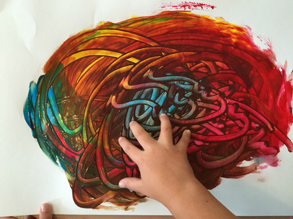 Art Projects for the Preschool Classroom - Finger Painting