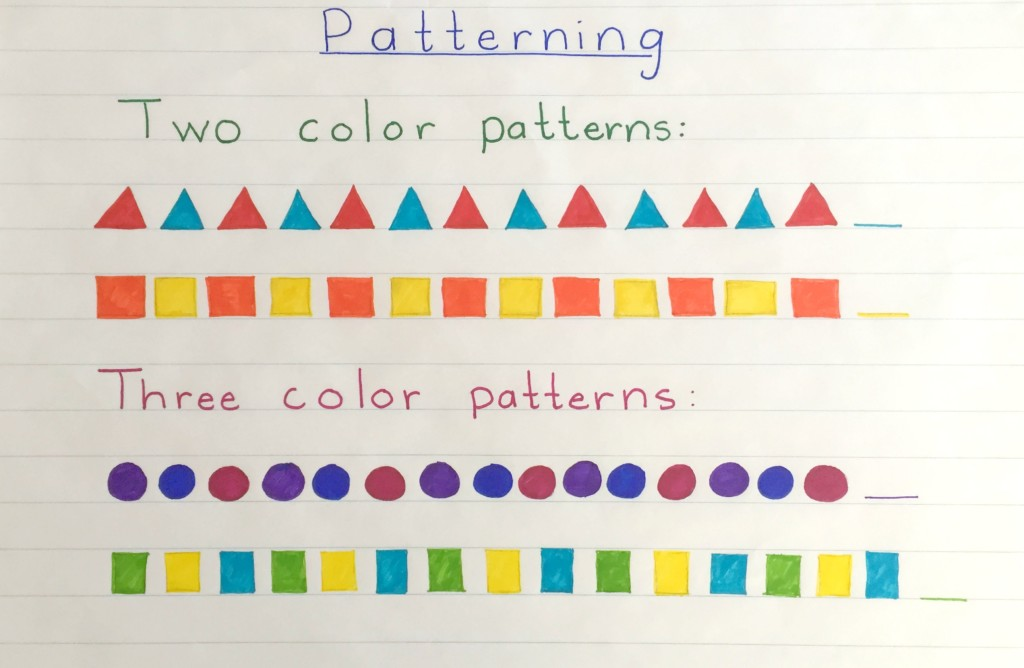 Two and Three Color Patterning