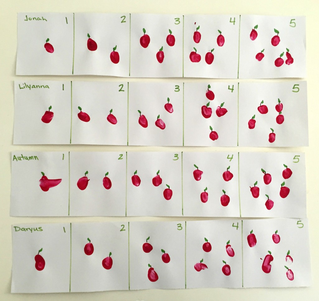 Apple Activities in the Preschool Classroom - Counting