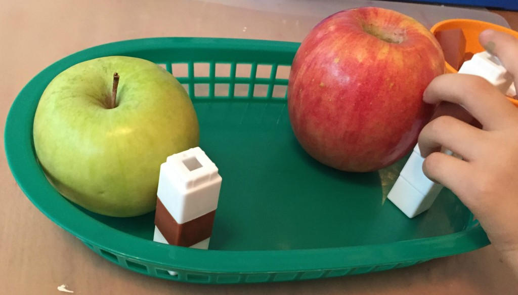Apple Activities in the Preschool Classroom - Measuring