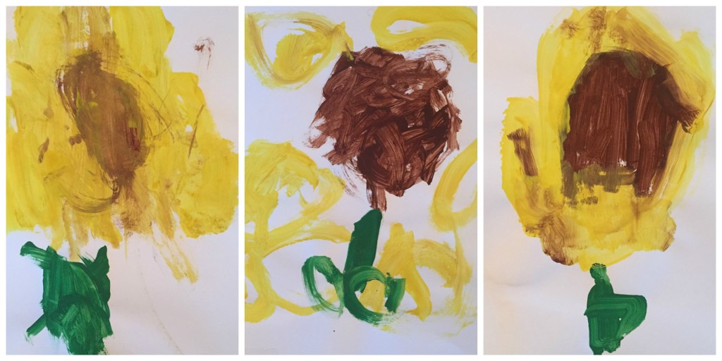 Sunflower Collage 2016 - Ms. Stephanie's Preschool