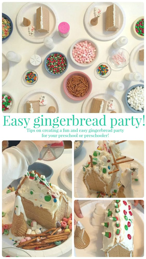 Easy Gingerbread Party!