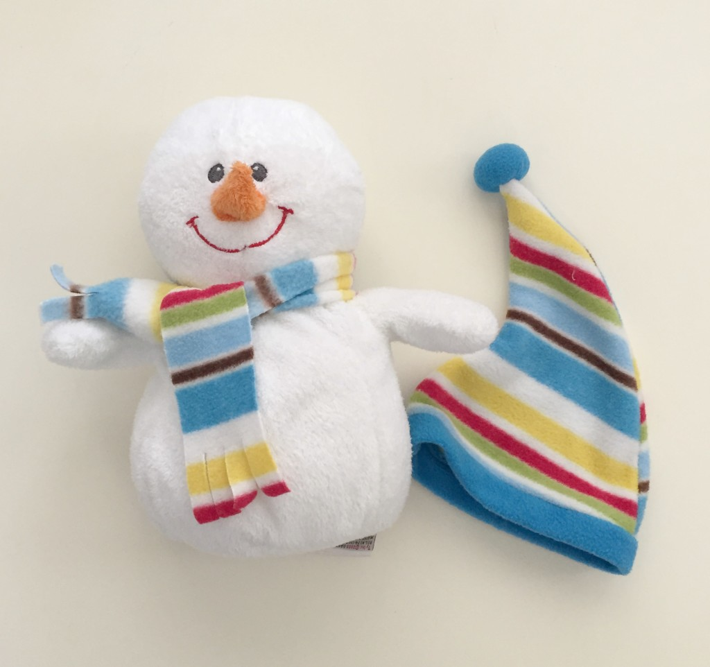 Snowman and Hat - Prepositions in the Preschool Classroom