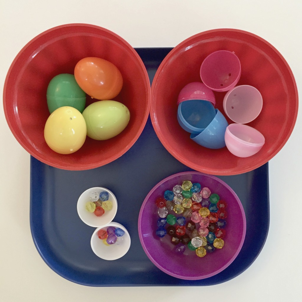 Cracking Eggs - Easter Shelf Activities