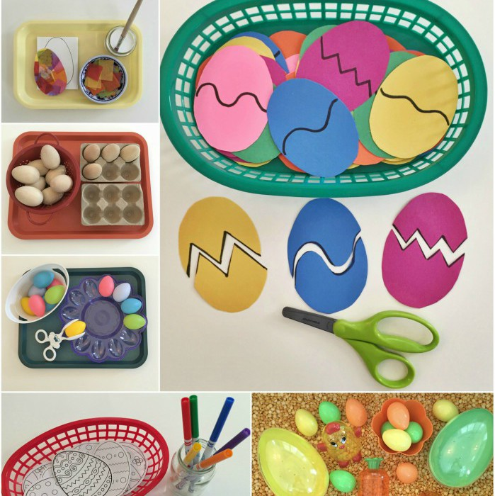Easter Shelf Activities