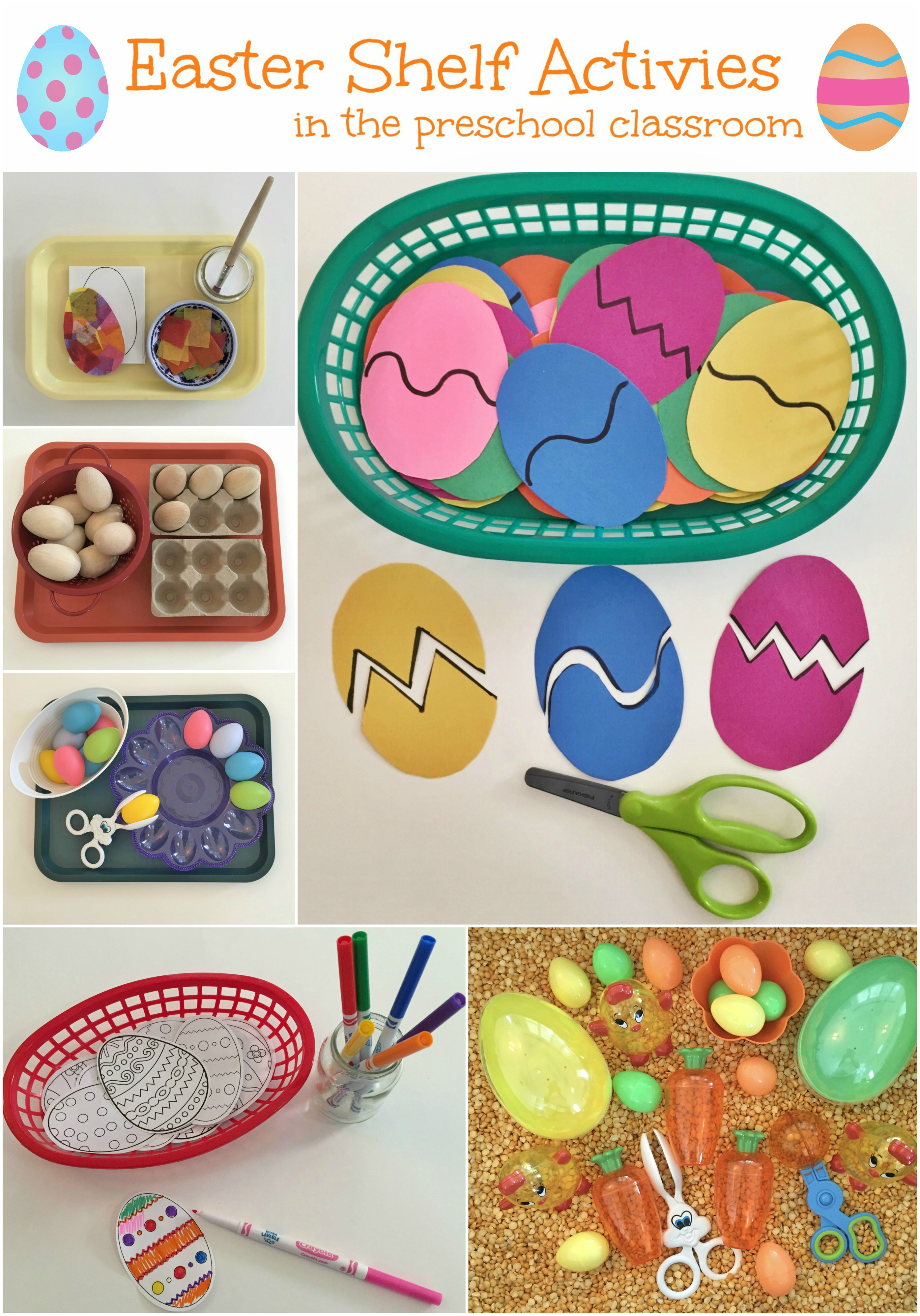 Classroom Ideas For Easter ~ Easter shelf activities ms stephanie s preschool