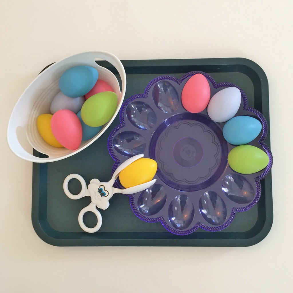 Egg Tray - Easter Shelf Activity