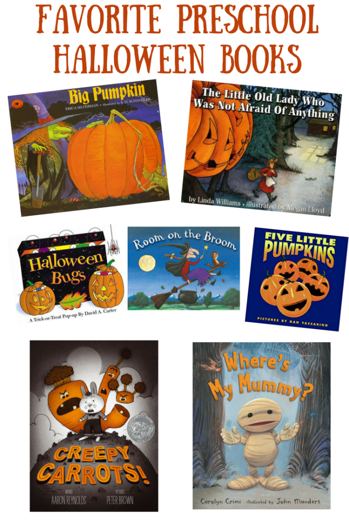 Favorite Preschool Halloween Books