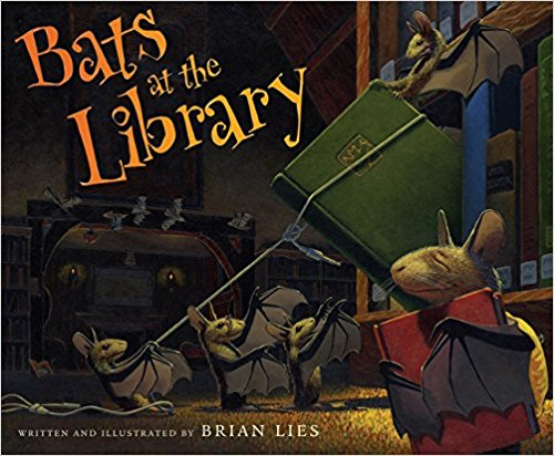 Bats at the Library - Books for the Preschool Classroom