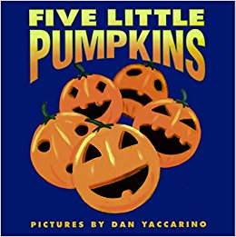 Favorite Preschool Halloween Books - Five Little Pumpkins