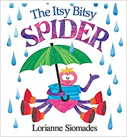 Spider Books for the Preschool Classroom - Itsy Bitsy Spider