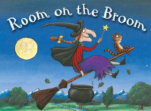 Favorite Preschool Halloween Books - Room on the Broom