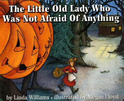 Favorite Preschool Halloween Books - The Little Old Lady Who Was Not Afraid Of Anything