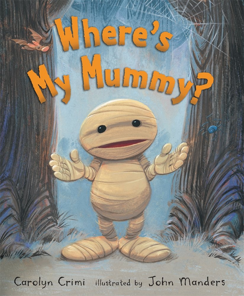 Favorite Preschool Halloween Books - Where's My Mummy