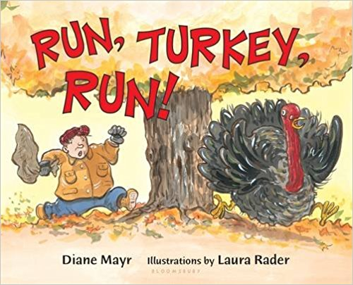 Run, Turkey, Run! - Thanksgiving Book for the Preschool Classroom