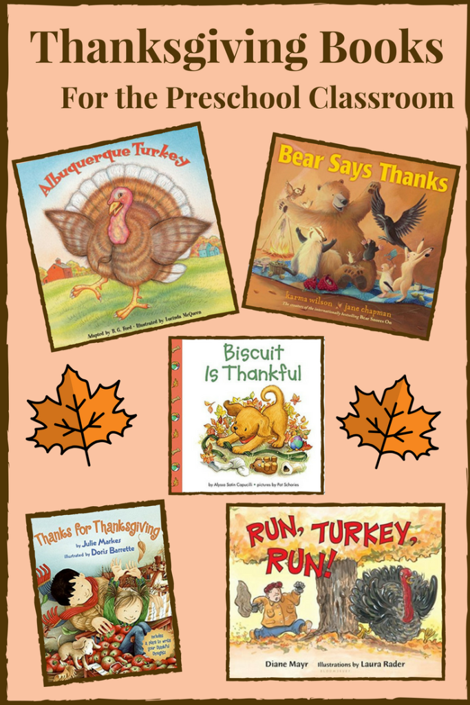 Thanksgiving Books for the Preschool Classroom