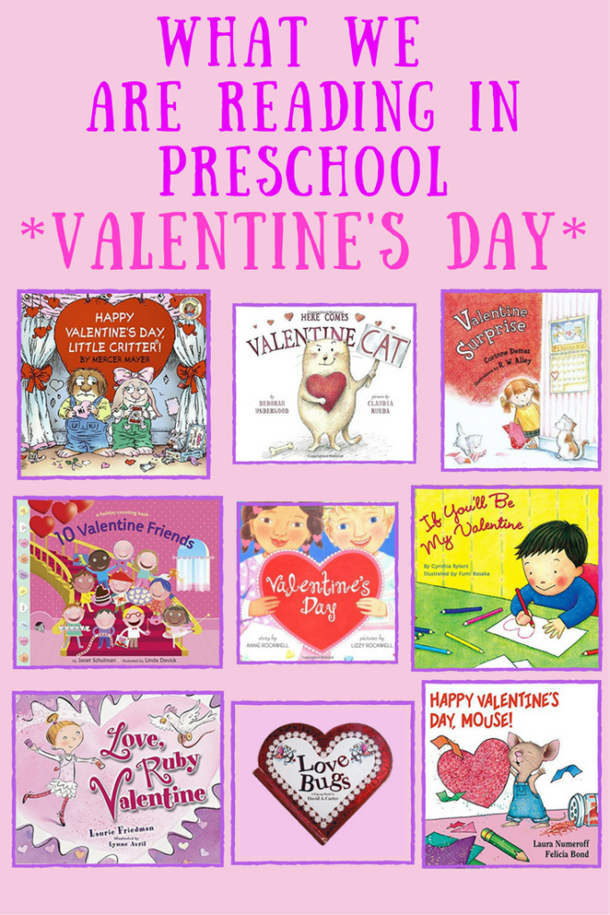 What We Are Reading In Preschool - Valentine's Day